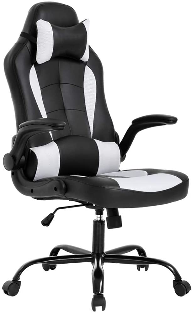 BestOffice PC Gaming Chair Ergonomic Office Chair Desk - The Best Office Chair for Upper Back Pain