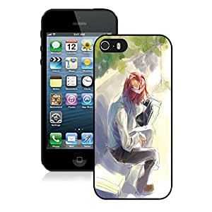 Popular Designed Case With Waiting Cover Case For iPhone 5S Black Phone Case CR-679