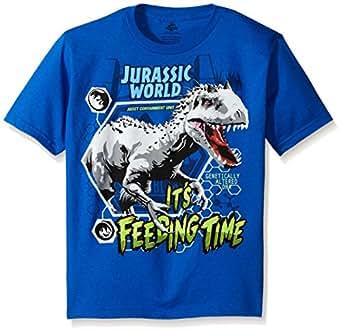 Freeze Children's Apparel Jurassic Park Little Boys' Short Sleeve T-Shirt Shirt, Royal Blue, Small/4