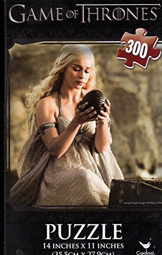 Game of Thrones - 300 Pc Jigsaw Puzzle + Free Bonus 2015 Magnetic Calendar