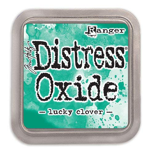 Ranger Tim Holtz Distress Oxides Ink Pads Lucky Clover (12 Pack)