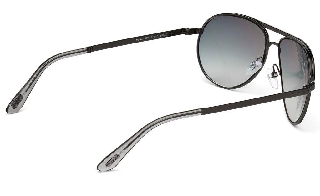 88b000f6752 TOM FORD Marko TF 144 Sunglasses TF144 Black 08B Shades - FT0144 08B - Marco    Sunglasses   Clothing