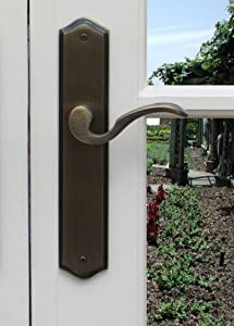 Beautiful Sliding Door Handle Lockset Hardware Ambassador Sliding Patio Door Lock In  Antique Nickel Finish