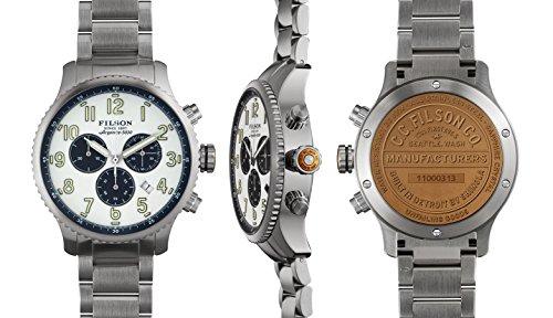 Filson Men's Shinola Mackinaw Field Stainless Steel Watch 11000313
