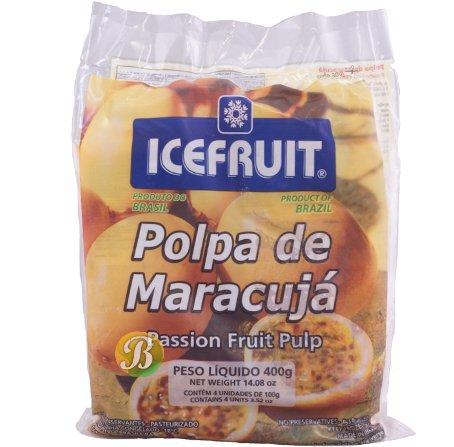 IceFruit Passionfruit Frozen Pulp 1 Unit