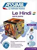 Le Hindi sans peine (livre+4CD audio+1CD MP3)