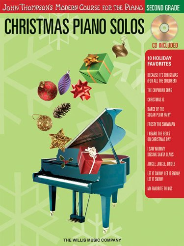 Christmas Piano Solos - Second Grade (Book/CD Pack): John Thompson's Modern Course for the ()