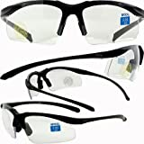 Apex clear bifocal safety glasses 2.0 power