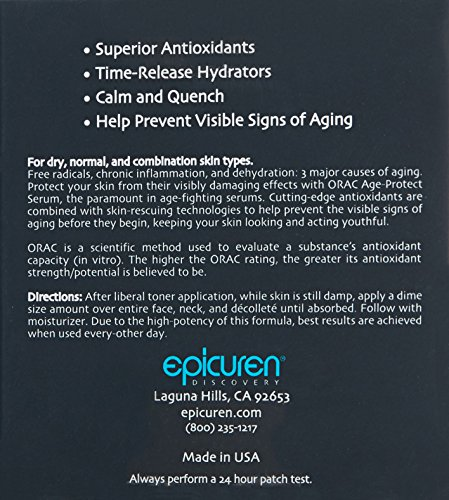 Epicuren Discovery Orac Age-protect Serum, 1 oz.