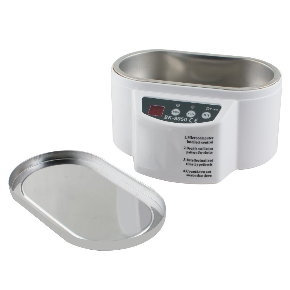 30W/50W Mini Ultrasonic Cleaner for Jewelry Glasses Circuit Board Watch CD Lens by Carejoy (Image #4)