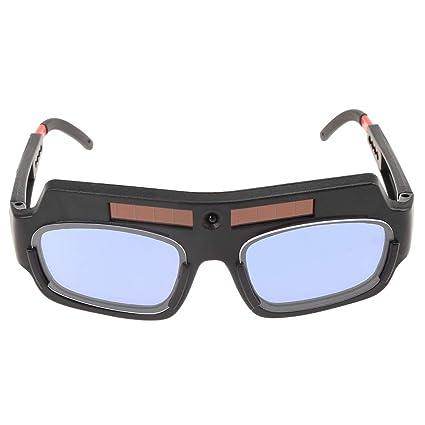 Wenquan,Gafas de Soldadura Ultravioleta Solar con Cambio automático(Color:Negro)
