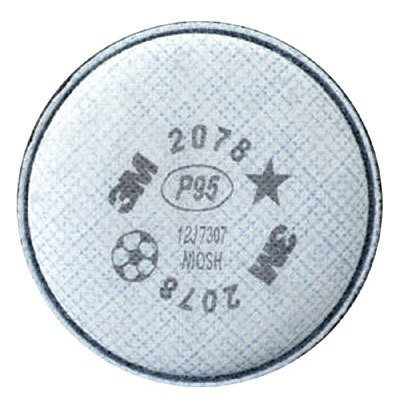 3M Particulate Filter, P95 w/ Nuisance Level Organic Vapo...