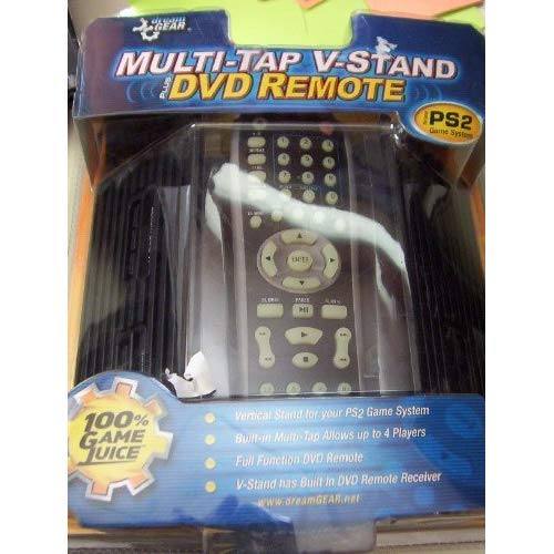Stand Sony A/v (Multi-tap V-Stand DVD Remote for Playstation 2 large systems)