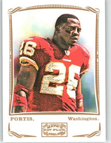 Clinton Portis - Washington Redskins - 2009 Topps Mayo #55 / Football Card in Screwdown Case!