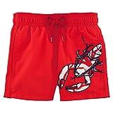 Vilebrequin - Lobster Embroidery Boy Swimwear - Boys - 2 years - Poppy