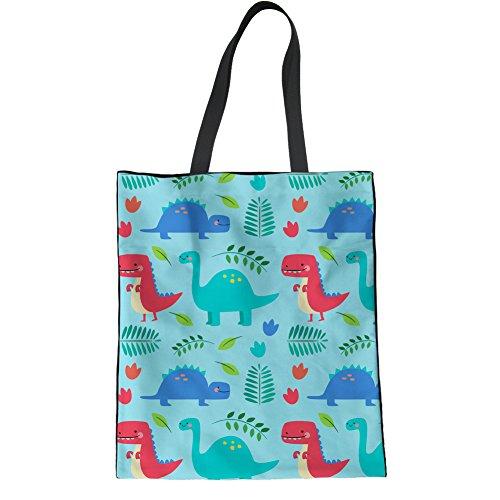 Reusable Grocery Westie Large Printed Handbag Animal Ladies 5 Bag Floral Shopping Coloranimal Cartoon g5A8wqTH