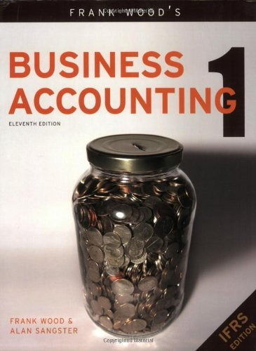 Frank Wood's Business Accounting, Vol. 1: 11th (eleventh) Edition PDF