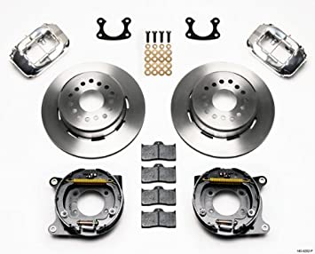 RANCHERO MONTEGO FAIRLANE FALCON CYCLONE COMPATIBLE WITH 1970-1974 MUSTANG TORINO PADS BLACK DYNALITE 4 PISTON CALIPERS NEW WILWOOD FRONT DISC BRAKE KIT COMET COUGAR MAVERICK 11 ROTORS