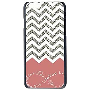 Chevron Stripe Anchor Tribal Keep Calm,Hakuna Matata Plastic Hard Case Cover Back Skin Protector For Apple iPhone 6G Plus 5.5 by Alexism Size45