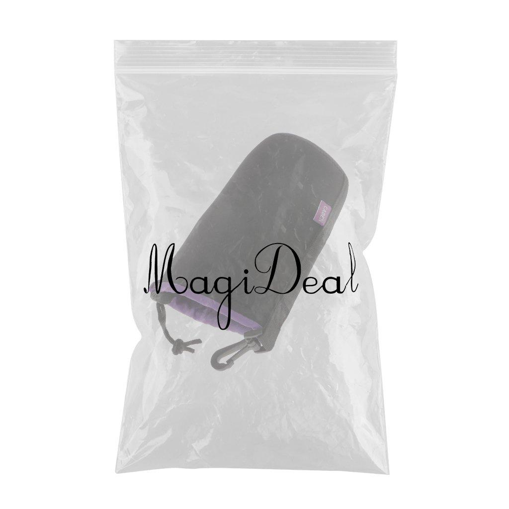 MagiDeal Custodie Morbida Borsa Protezione Sacchetto per Lenti Fotocamere Fotografica DSLR Impermeabile Universale S