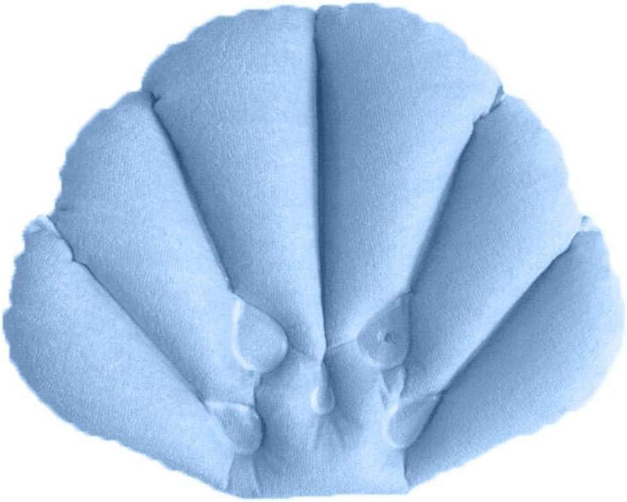 OIYINM77 Oreiller gonflable de bain de m/énage avec loreiller de baignoire de tasse daspiration Coussins de bain