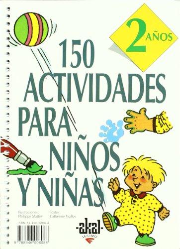 Descargar Libro 150 Actividades Para Niños Y Niñas De 2 Años Catherine Vialles