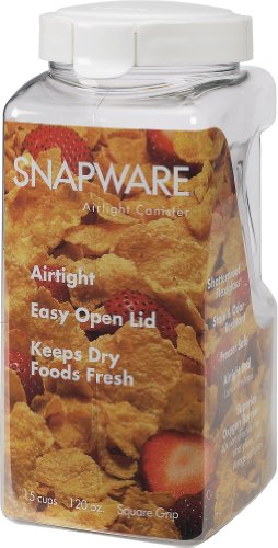 Snapware 1098534 15 Cup Air Tight Canister, Large
