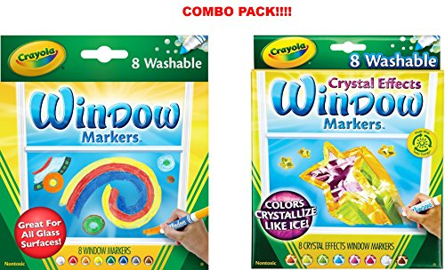 Crayola Washable Markers Crystal Effects