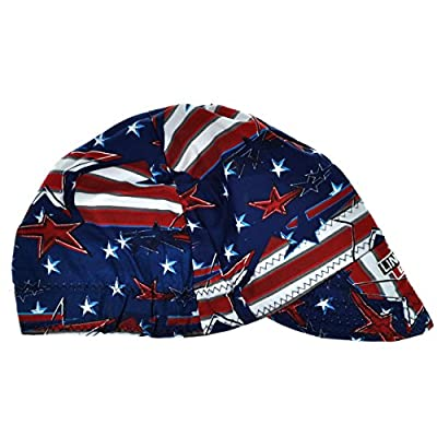 Lincoln K3203-ALL All American Welding Cap Red White & Blues
