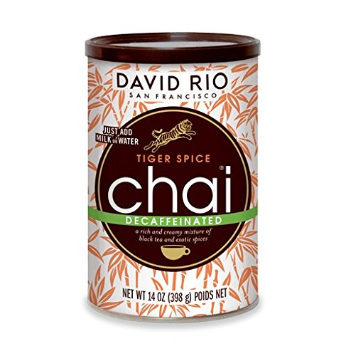 David Rio Chai Mix, Decaf Tiger Spice, 14 Ounce