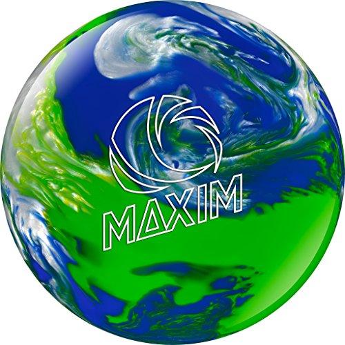 Ebonite Maxim Bowling Ball, Cool Water, 10-Pound (Bowling Pound 10 Balls)