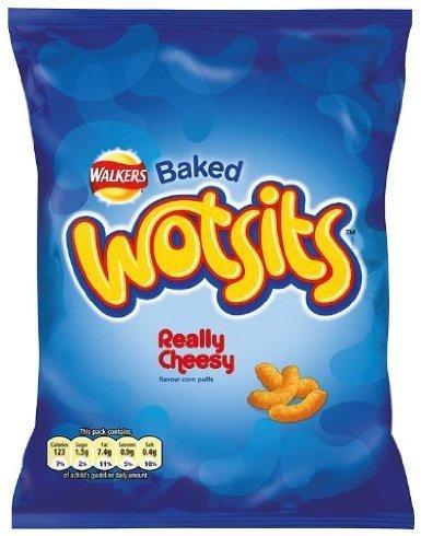 Walkers Baked Wotsits Wirklich Cheesy Crisps 48-Pack