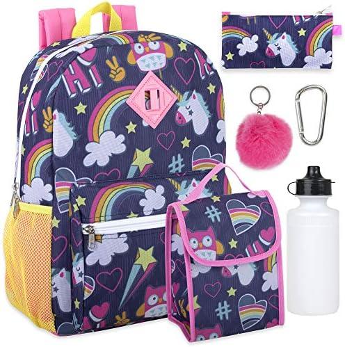 Backpack Pencil Bottle Keychain Unicorn product image