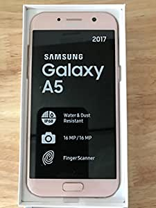 samsung galaxy a5 2017 32gb smartphone peach cloud. Black Bedroom Furniture Sets. Home Design Ideas