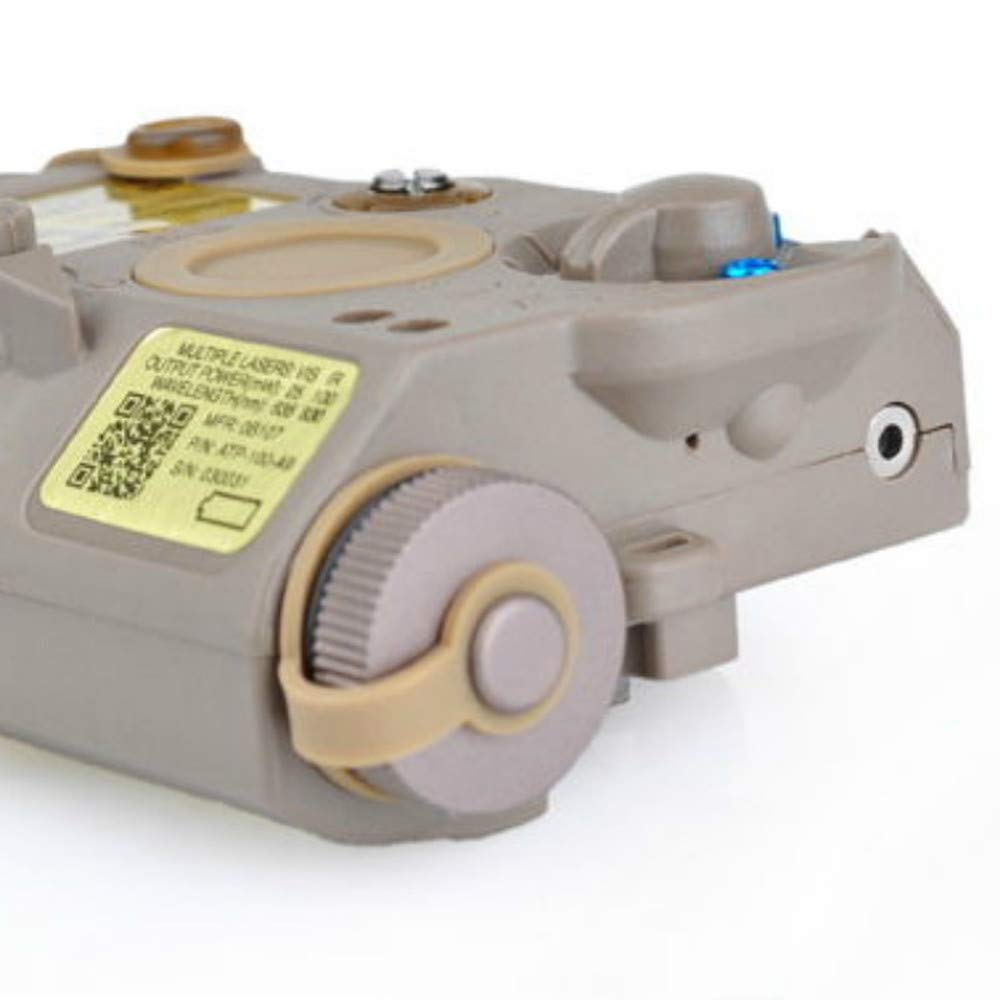HERCHR Integrated Pointer Illuminator Module Laser Device, LA-5 PEQ15 Element EX276-DE
