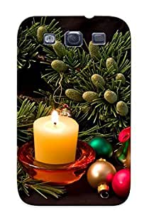 Bxhxrov2575oQiKE Special Design Back Holidays Christmas Seasonal Festive Phone Case Cover For Galaxy S3