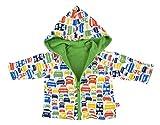 Zutano Reversible Hoodie Jacket- Colorful Cars, 12