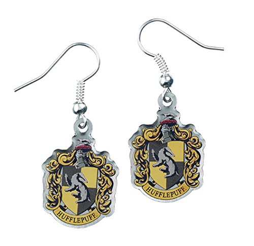 Official Harry Potter Jewellery Hufflepuff Crest Earrings