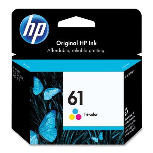 HP 61 Tri-color Original Ink Cartridge (CH562WN)