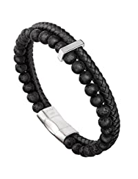 Essential Oil Bracelet Adjustable -Murtoo Beads Bracelet Lave Stone Perfume Diffuser, 7''-9'' Gift