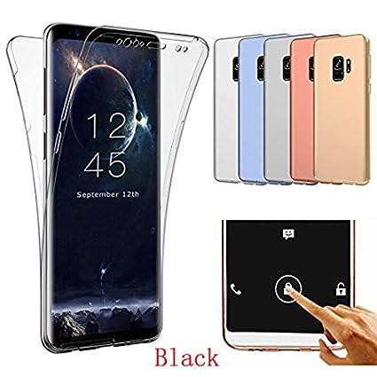 Amazon.com: Carcasa para Samsung Galaxy S9, con cobertura de ...