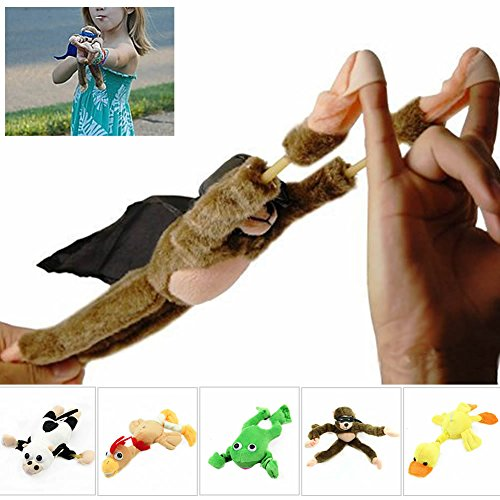 [ONcemoRE Flingshot Flying Monkey Plush Toy with Sound - Watch them fly!(Monkey only)] (Cymbal Monkey Costume)