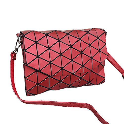 Handbag Bag Bag Modern Shoulder Bag Evening Shoulder Bag Bags Black Bag Forearm Elegant Messenger Bag Women Casual Travel Red Messenger Bag Geometric Small YUHEQI Handbag Shoulder Evening wqfIBI