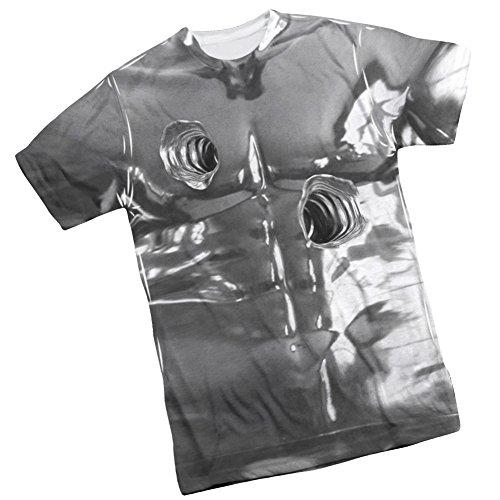 [T1000 Costume -- Terminator II Front Print Sports Fabric T-Shirt, XXX-Large] (Cameron Terminator Costume)