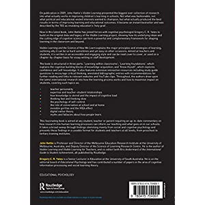 Visible Learning and the Science of How We Learn Paperback – 27 Sept. 2013