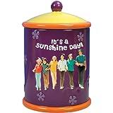 "Westland Giftware SS-WL-13465 It's a Sunshine Day Brady Bunch Painted Ceramic Cookie Jar, 10.25"""