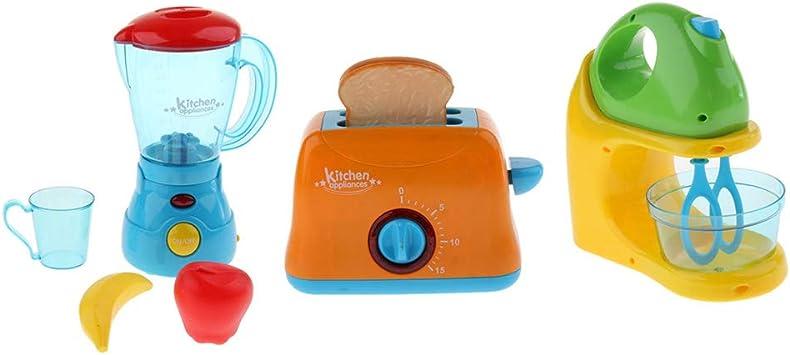 3 Piezas Mini Modelo de Licuadora/Exprimidor/Máquina de Pan de ...