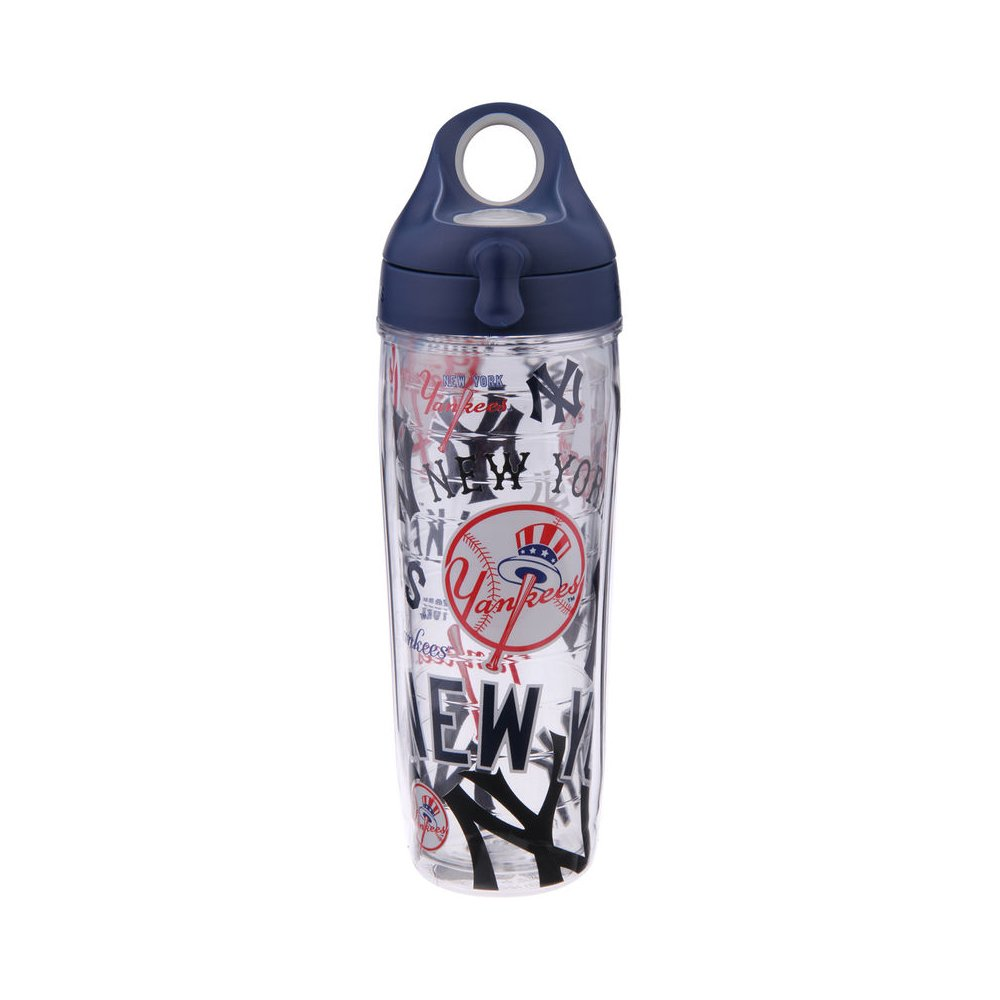 Tervis 888633608929 MLB New York Yankees All Over 24 oz Water Bottle with Lid