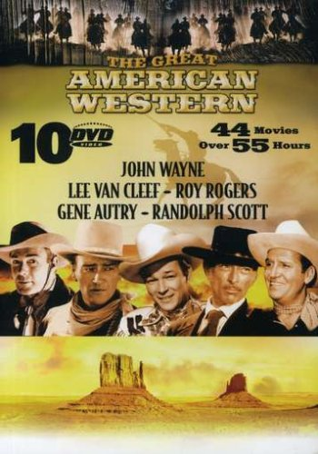 The Great American Western Vol. 1-10 (44 Movies) by Echo Bridge Home Entertainment