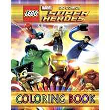 Lego Marvel & DC Super Heroes: Coloring Book For Kids